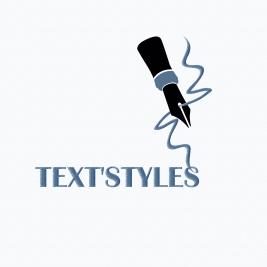 logo text'styles DEF