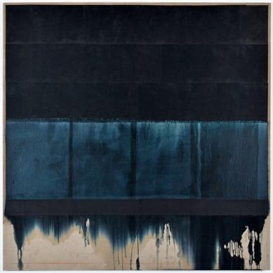 jakob-gasteiger-austrian-b-1953-untitled-2011-papier-de-soie-et-papier-carbone-sur-toile