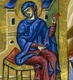 jacobus kokkinobaphi, orationes encomiasticae a in ss. virginem deiparam_Constantinople_1a half 12th c_BNF_Grec 1208_160v