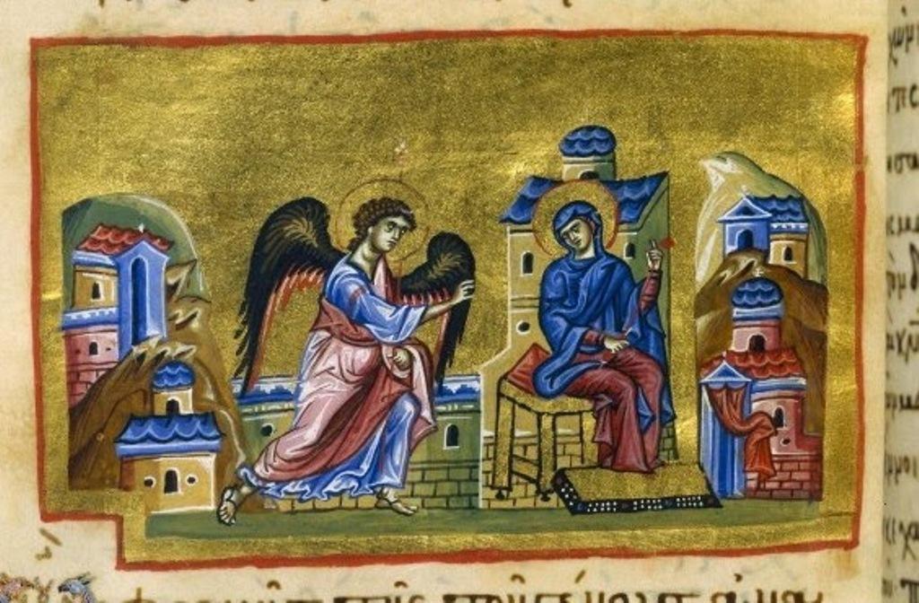 jacobus kokkinobaphi, orationes encomiasticae in ss. virginem deiparam_Constantinople_1a half 12th c_BNF_Grec 1208_160v