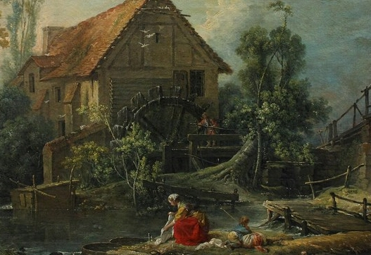 françois boucher le Moulin